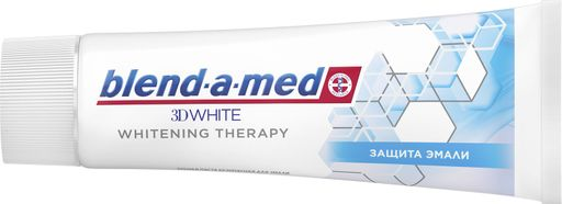 Blend-a-med 3d white whitening therapy паста зубная, паста зубная, для чувствительных зубов, 75 мл, 1 шт. цена